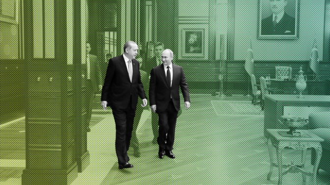 Putin, Erdogan Emerge All Smiles from Ankara Meeting