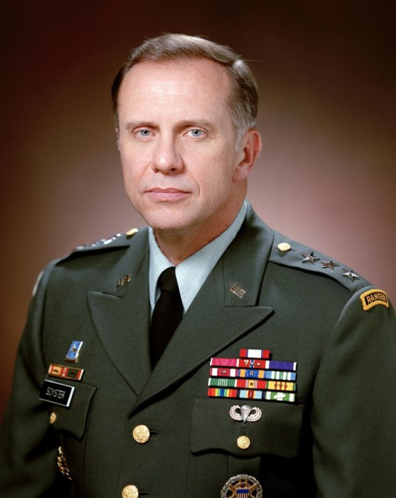 Lt. Gen. Harry Soyster, intelligence officer in charge of StarGate Project, the officer who ended the Army's participation in paranormal experiments. © CC0
