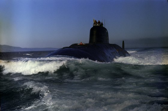 Soviet nuclear submarine '50 Let SSSR sets off for a mission. © Sputnik Yu. Michurin