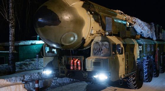 A road-mobile Topol missile system © Alexandr Kryazhev / Sputnik
