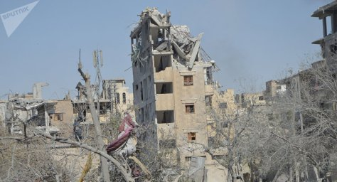 Daesh was ousted from Raqqa, their de facto capital, in October 2017 by the US-backed Syrian Democratic Forces (SDF). Residents of the ruined city have slowly begun to return to their homes - only to find that their town has been turned into a mine-filled death trap.