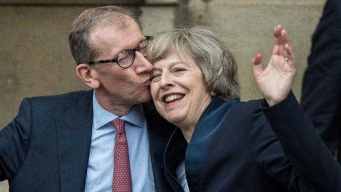 "Theresa May's Husband's Firm made a ""Financial Killing"" from Syria Bombing"
