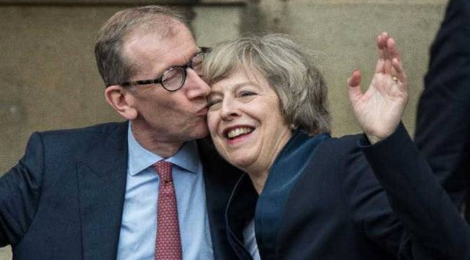 """Theresa May's Husband's Firm made a """"Financial Killing"""" from Syria Bombing"""