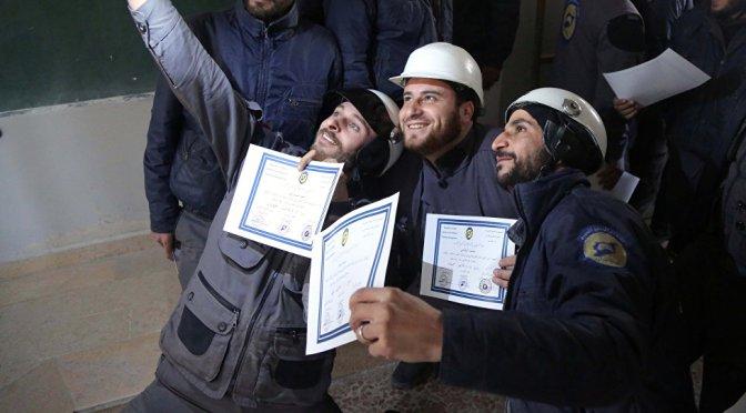 UK Organized & Funded White Helmets Evacuating to Canada via Israeli Logistics