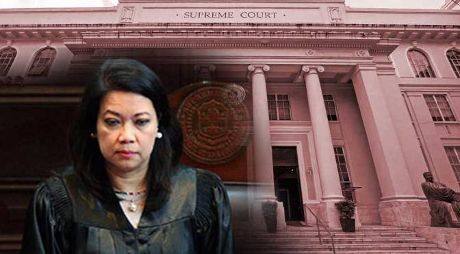 "Philippine Supreme Court ""Chief Justice"" Sereno Falls into Disgrace"