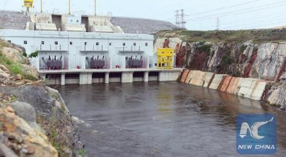 Chinese projects in Africa. Above, the Soubre hydroelectric power station built by China in Ivory Coast. Below, China's Sinohydro expanded the production of electricity on the Zimbabwe side of the Kariba Dam, to produce an additional 300 MW for the Zimbabwe grid.