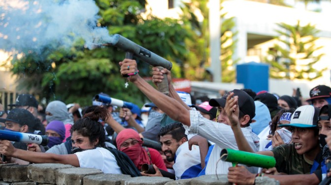 US Fingerprints All Over Nicaragua's Bloody Unrest