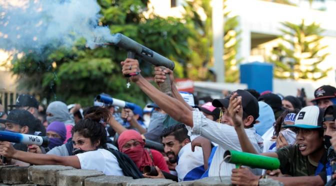 US Fingerprints All Over Nicaragua's Bloody Unrest