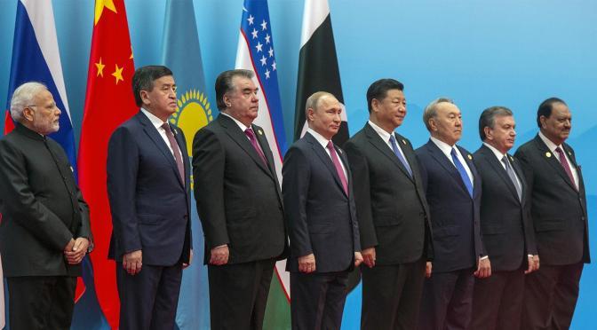 "Bonus for the ""Big Eight"" in Qingdao, SCO Summit   Mikhail Konarovsky"