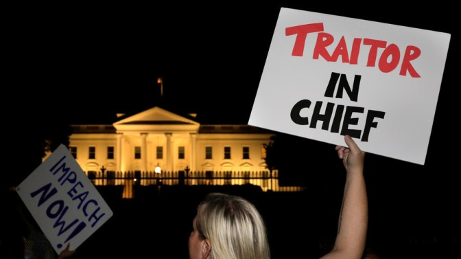 Denial & Guilt: US Liberals Losing Their Minds Over #TreasonSummit