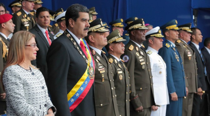 Deep State's Armed Drone Assassination Attempt vs. Maduro Failed