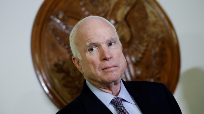 Perennial Warmonger, Regime Change Operative John McCain Dies at 81