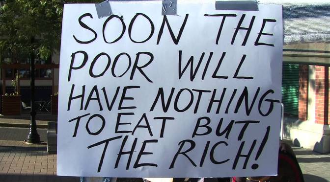 How the Rich Eat the Poor and the World