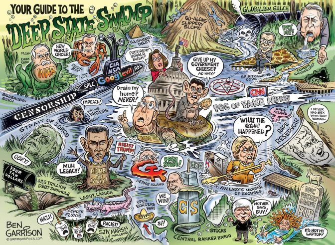 The Deep State Swamp Can Be Defeated Right Now, Here's How