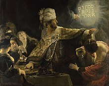 Bush Funeral Service Foreshadows A Series of Radical Events 220px-Rembrandt-Belsazar