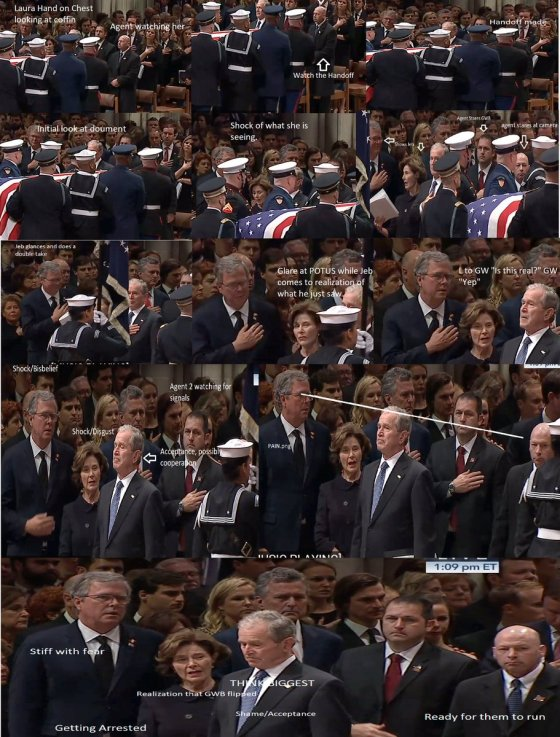 Bush Funeral Service Foreshadows A Series of Radical Events Bush-funeral-collage