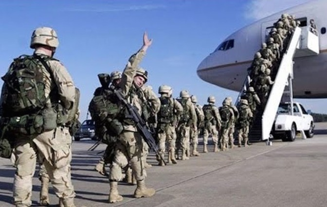 Full US Troops Withdrawal from Syria Underway