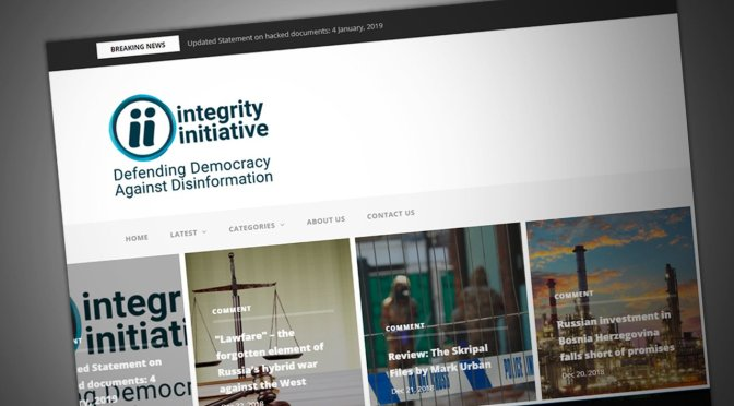 The Integrity Initiative's Foreign Agents of Influence Invade the United States