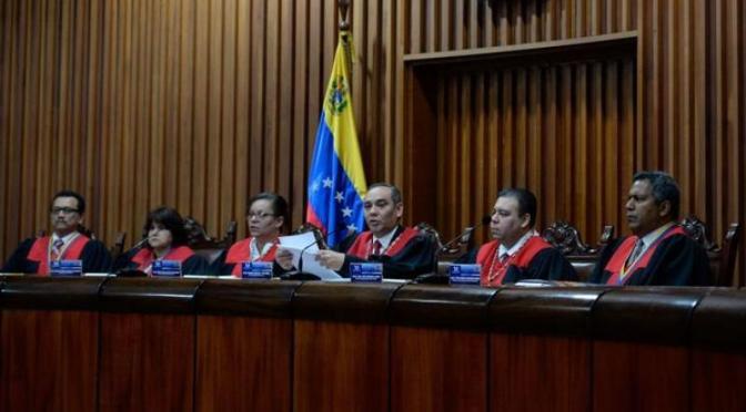 Venezuelan Supreme Court Fights Back Deep State Regime Change