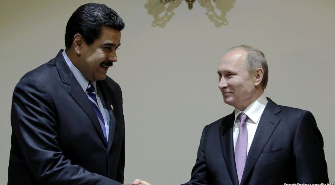 Russia Gives US Red Line on Venezuela