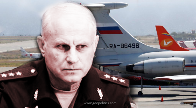 CHECKMATE: Russian Forces Under Gen. Vasily Tonkoshkurov Landed in Venezuela