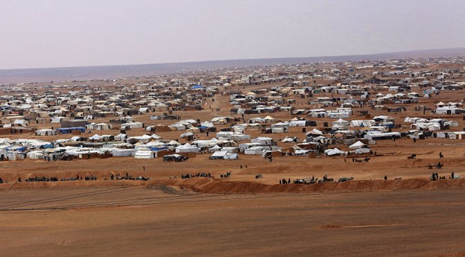 1,300+ Refugees Out of 40,000 Depart US Concentration Camp in Rukban Syria