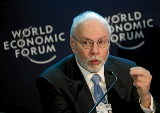 Hedge fund manager Paul Singer has raised millions for a pro-Marco Rubio super PAC. Moritz Hager | World Economic Forum
