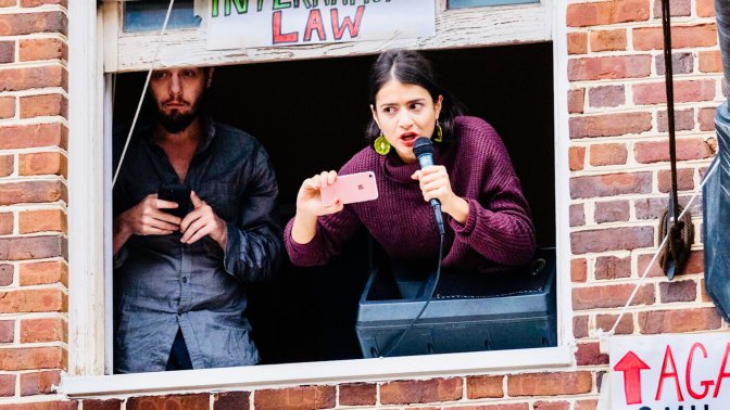Journalists Endure US Govt Blackout and Siege at Venezuelan Embassy in DC