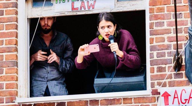 Journalists Endure US Govt Blackout and Siege at Venezuelan Embassy in DC