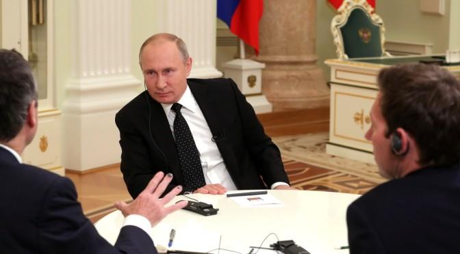 Vladimir Putin Slams 'Obsolete Liberalism'