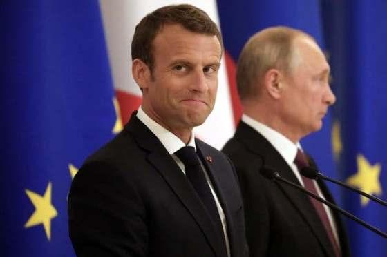 New World Order in Meltdown Macron-putin
