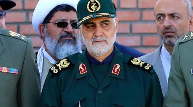 Iran Foiled Israeli-Arab Plot To Blow Up Legendary  Gen. Soleimani