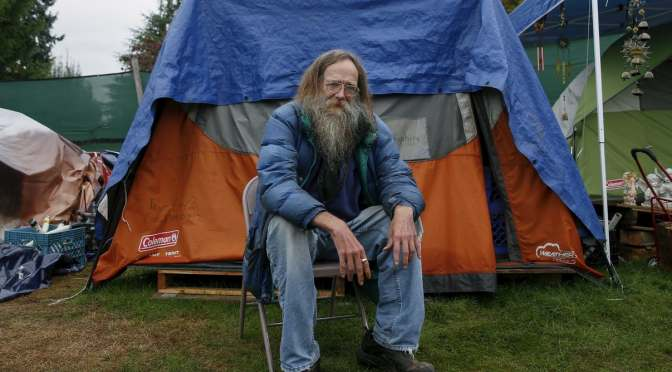 The Plan For A Global Dystopia Tent-homeless